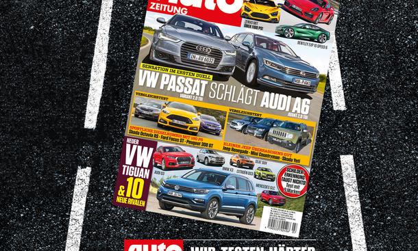 Auto Zeitung 7/2015 Heft-Vorschau Cover