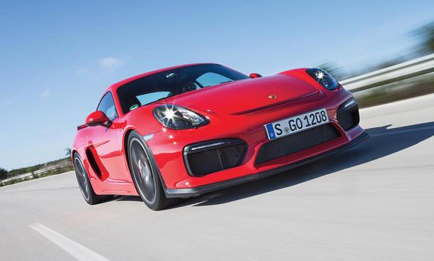 Porsche Cayman GT4 Sportwagen Test Fahrbericht