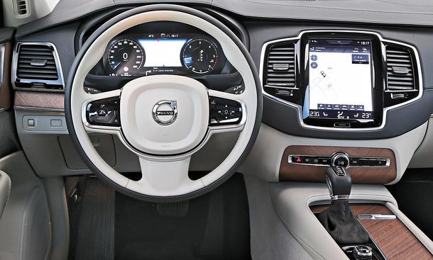 Neuer Volvo Xc90 2015 Gegen Bmw X5 Autozeitung De
