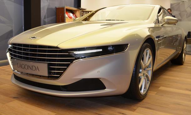 Aston Martin Lagonda Taraf 2015 Luxus-Limousine Europa Verkauf