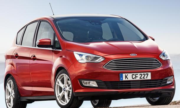 Ford C-Max 2015 Facelift Kompaktvan Preis Familienauto