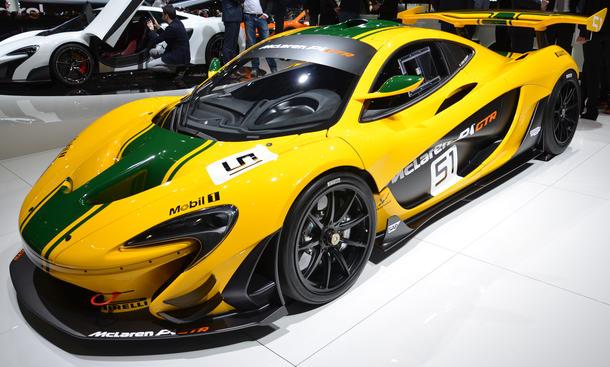 McLaren P1 GTR 675LT Genfer Autosalon 2015 live Supersportwagen
