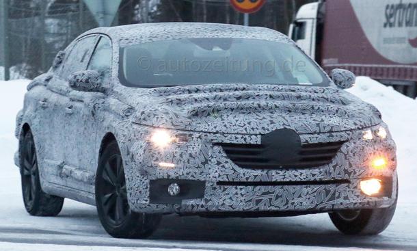 Renault laguna 2015 erlkönig Neuheiten Mittelklasse Limousine