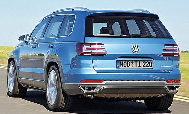 VW Tiguan XL Langversion Produktion Mexiko SUV Siebensitzer