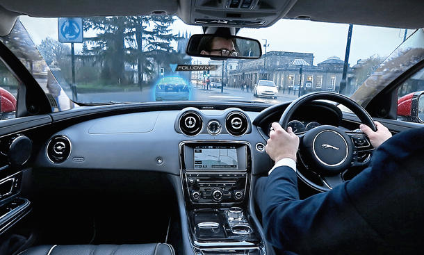 Jaguar Land Rover Augmented Reality Cockpit