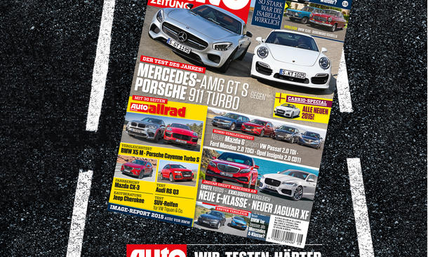 Auto Zeitung 8/2015 Heft-Vorschau Cover