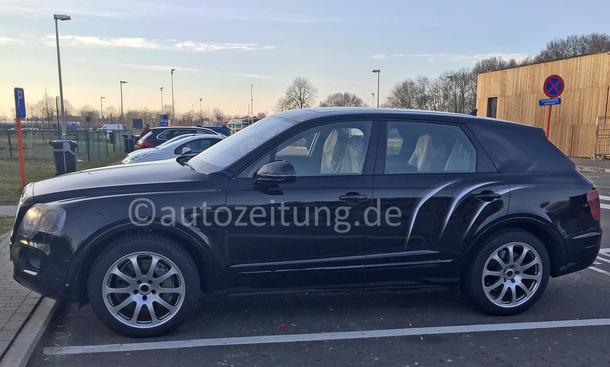 Bentley Bentayga SUV 2016 Geländewagen Erlkönig W12 Luxus