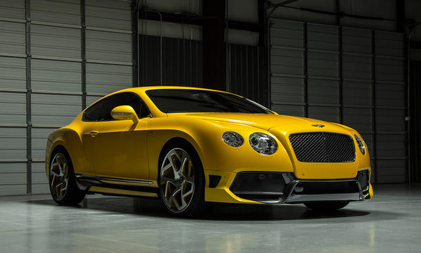 bentley continental gt tuning vorsteiner br10rs sportcoupé front