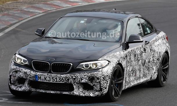 BMW M2 Coupé 2015 Erlkoenig Kompaktsportler Nürburgring Nordschleife
