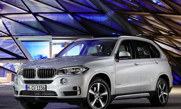 BMW X5 xDrive40e 2015 Plug-in-Hybrid-Antrieb SUV PHEV Auto China 2015 Shanghai Motor Show
