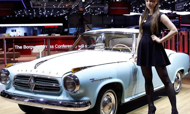 Borgward Genfer Autosalon 2015 verschwundene Automarken Galerie