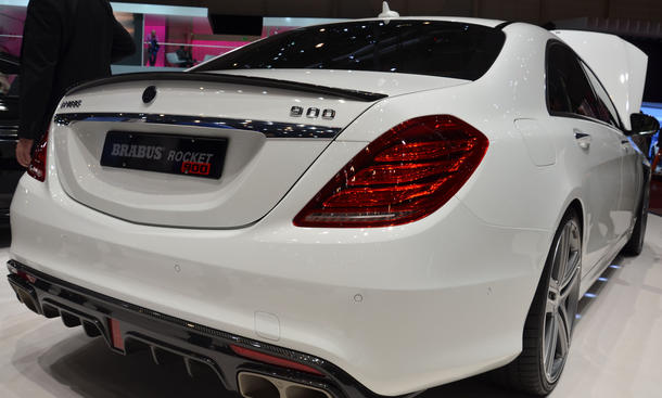 Brabus Rocket 900 Tuning Genfer Autosalon 2015 Mercedes S-Klasse V12