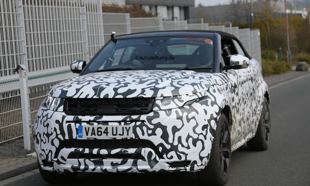 Range Rover Evoque Cabrio 2015 IAA SUV-Cabrio wird gebaut