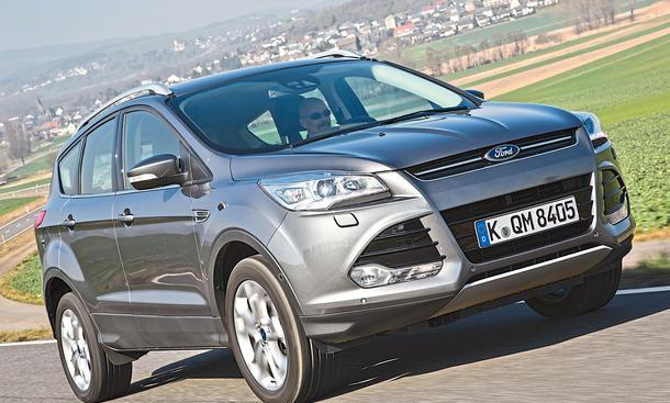 ford kuga 1.5 ecoboost 2x4: test | autozeitung.de