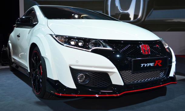 Honda Civic Type R Genfer Autosalon 2015 Kompaktsportler Premiere Neuheiten