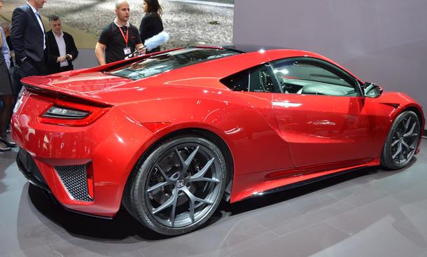honda nsx 2015 autosalon genf live bilder infos sportwagen vorstellung