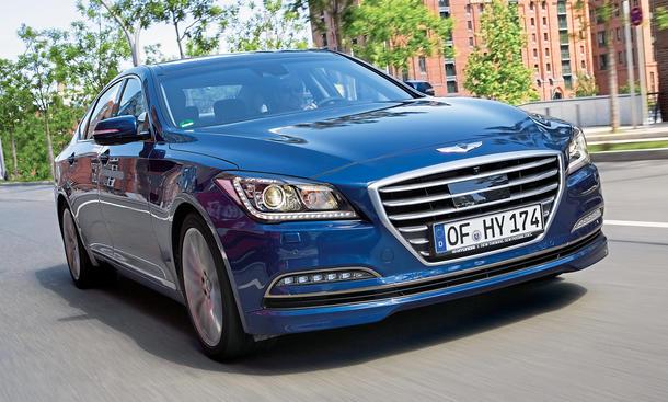 hyundai genesis 2015 3.8 v6 gdi test limousine front