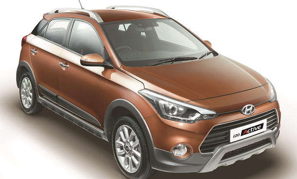 hyundai i20 active neuer crossover. Black Bedroom Furniture Sets. Home Design Ideas