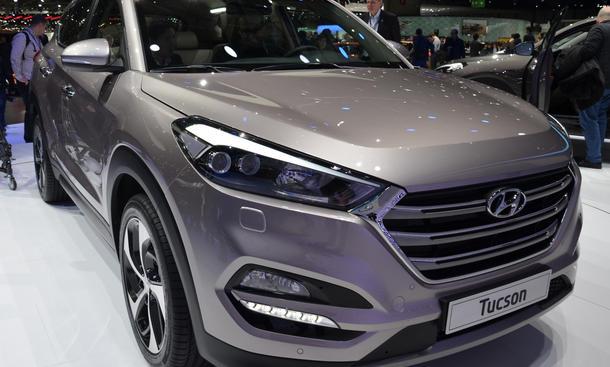 Hyundai Tucson Genfer Autosalon 2015 Neuheit Premiere SUV
