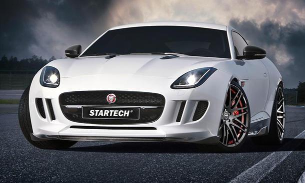 jaguar f-type tuning startech genfer autosalon 2015 sportwagen