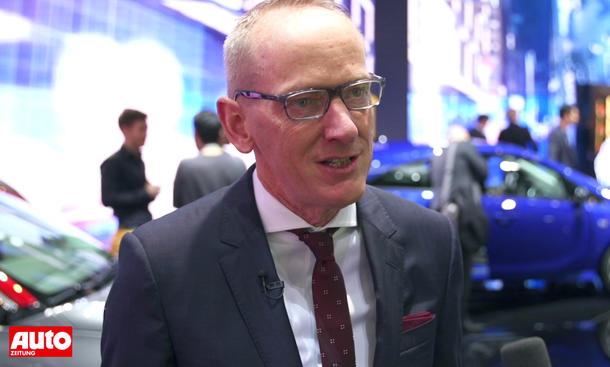 Opel Karl-Thomas Neumann Interview Genfer Autosalon 2015 Neuheiten