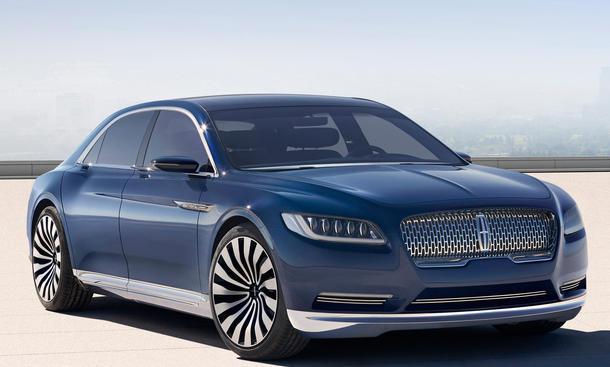 2016 Lincoln Continental 2015 New York Auto Show Luxusklasse Limousine Luxus