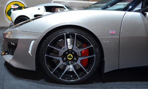 Lotus Evora 400 Genfer Autosalon 2015 Sportwagen V6