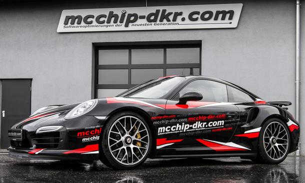 McChip-dkr Tuning Porsche 911 Turbo S 991 Leistungssteigerung