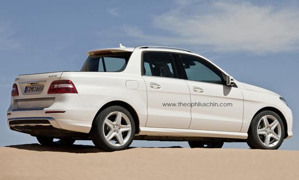 Mercedes Pickup-Truck US-Markt Daimler Pick-Up