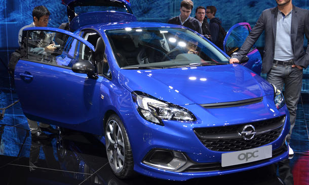 Opel Corsa OPC 2015 Genfer Autosalon Bilder Kleinwagen Motor Turbo Preis