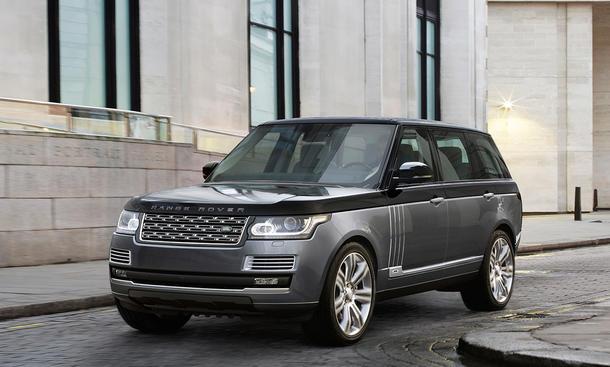 Land Rover Range Rover SVAutobiography New York Auto Show 2015 Premiere