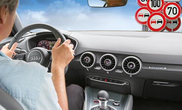 Verkehrszeichenerkennung Test Assistenzsysteme Schwächen Schildererkennung