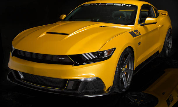 Saleen S302 Black Label Ford Mustang 2015 Dodge SRT Hellcat V8