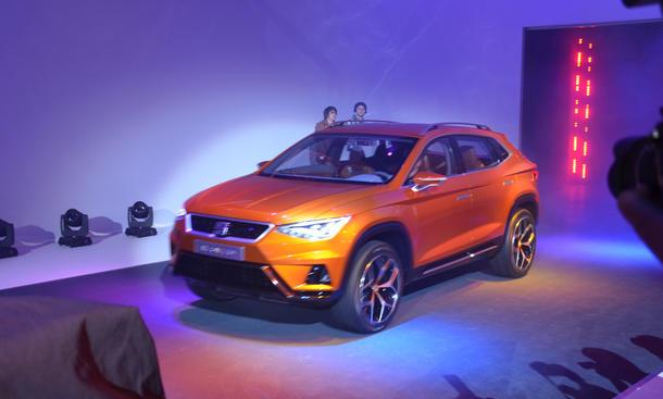 Seat SUV 20V20 Genfer Autosalon 2015 Neuheiten Crossover Premiere Live-Bilder