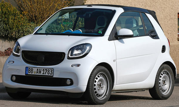 smart fortwo 2015 cabrio stoffverdeck city car