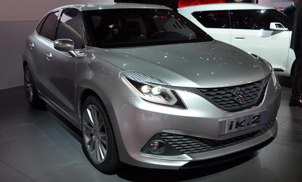 Suzuki iK-2 Genfer Autosalon 2015 Studie Kompaktklasse