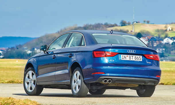 Audi A3 Vs Vw Jetta Kompakte Limousinen Im Vergleich Autozeitung De