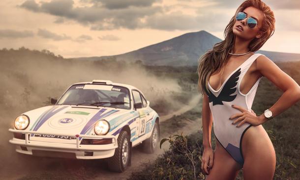 Miss Tuning Kalender 2015 April Erotik Veronika Klimovits Afrika
