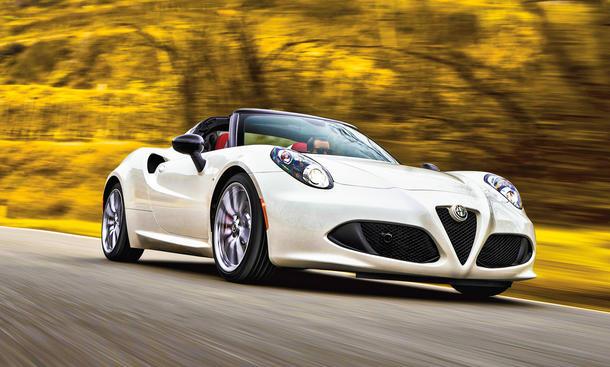 Alfa Romeo 4C Spider Cabrio Neuheit