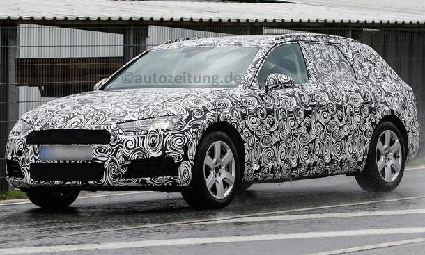 Audi A4 Avant 2015 Erlkönig IAA Frankfurt Mittelklasse-Kombi