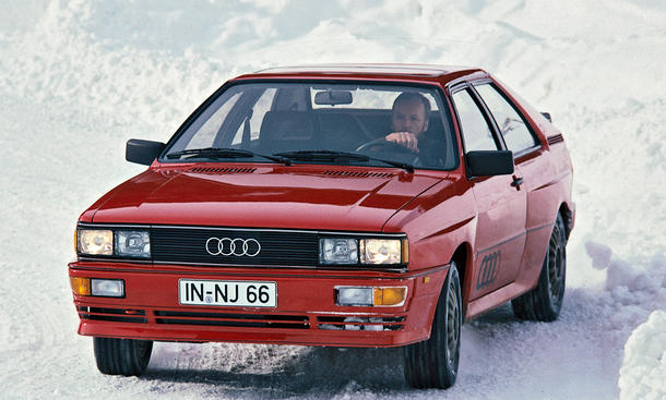 Audi quattro Kaufberatung Youngtimer Bilder technische Daten
