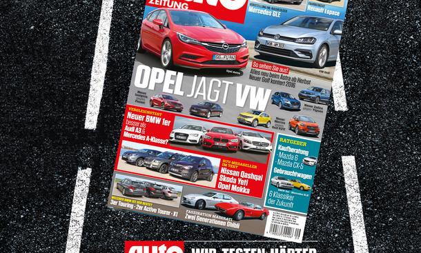 Auto Zeitung 9/2015 Heft-Vorschau Cover
