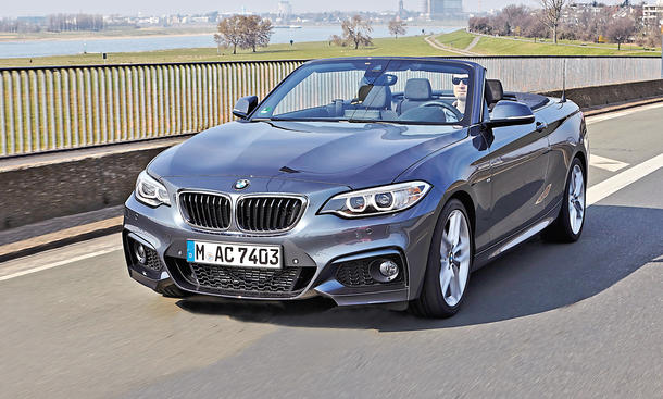 bmw 2er cabrio 220d im test. Black Bedroom Furniture Sets. Home Design Ideas