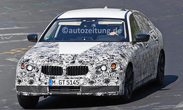 BMW 5er 2016 Erlkönig Nürburgring Oberklasse Limousine