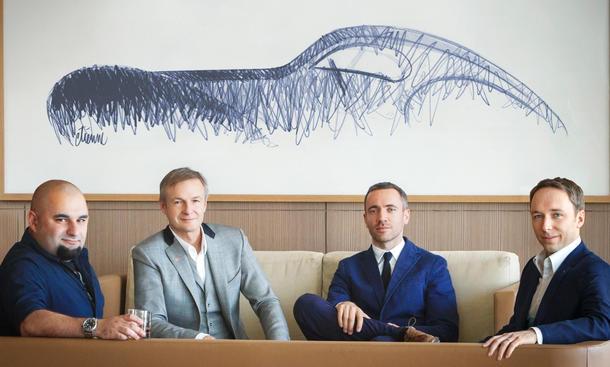 Bugatti Design-Team 2015 Etienne Salomé Frank Heyl Alexander Selipanov Designer