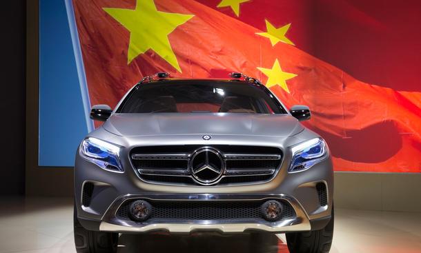 Daimler Absatz 2015 1. Quartal Verkaufszahlen China Mercedes