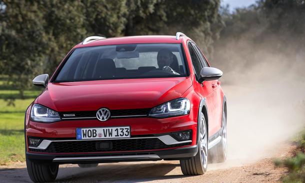 Fahrbericht VW Golf Alltrack TDI 2015 Variant Kombi Crossover