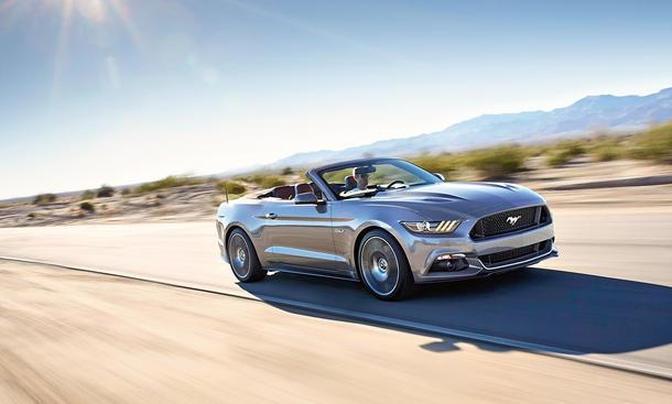 Ford Mustang Convertible Cabrio Neuheit V8