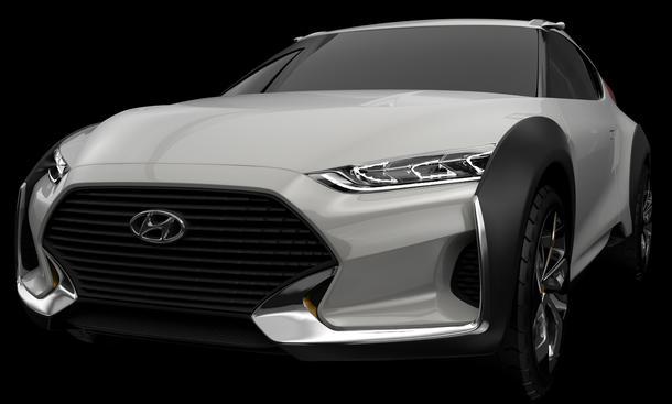 Hyundai Enduro 2015 Seoul Motor Show Studie City-SUV Crossover Concept Car