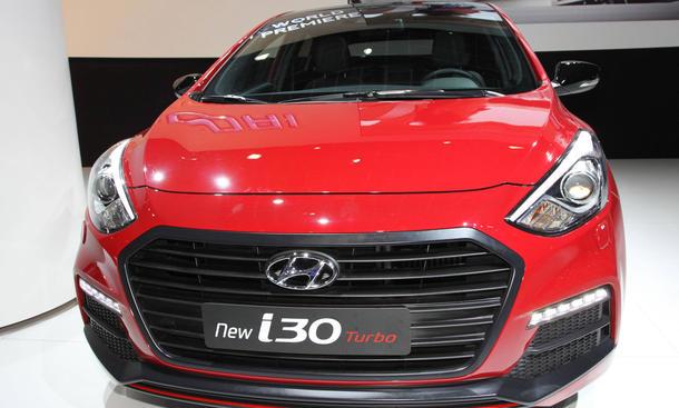 hyundai i30 2015 facelift front preis kompaktklasse benziner diesel